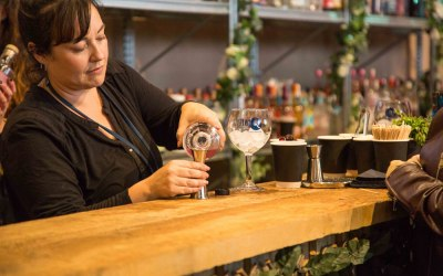 Provision of bar and staff for a Gin festival