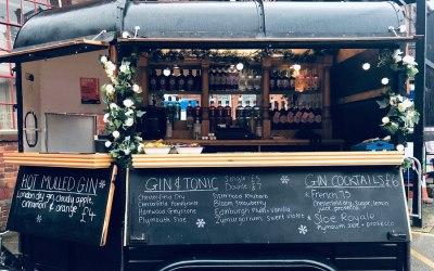 Bar operation at Christmas Markets