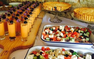 The Rustic Caterer | Naming Day Buffet