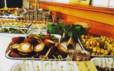 The Rustic Caterer | Cold Wedding Buffet