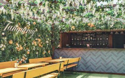 Bar Install and Decor For Tanqueray Activation