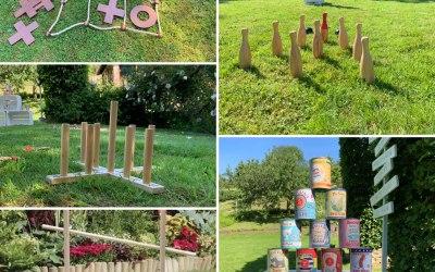 Quality Wooden Garden Games Package - Includes 8 Garden Games