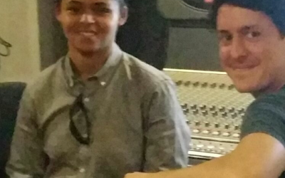 My producer and I