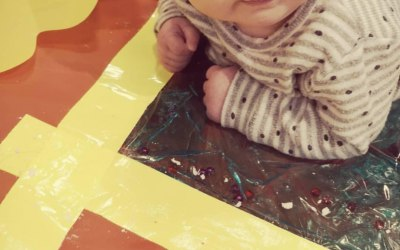 Sensory play for babies event