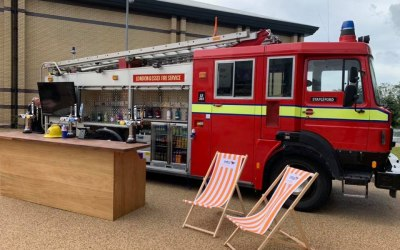 The Fire Engine Bar at Intu Lakeside