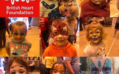 British heart foundation family fun day pontyridd