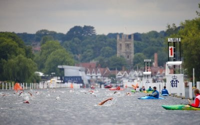 Promo shot for Henley Swim