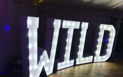 5ft Illuminated Letters
