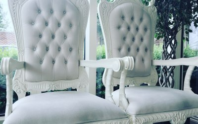 Ivory Throne Chairs