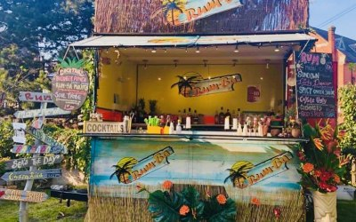 RumBa - our outside Caribbean beach bar