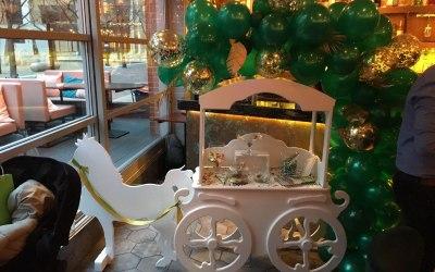 Children's Horse & Carriage Cart