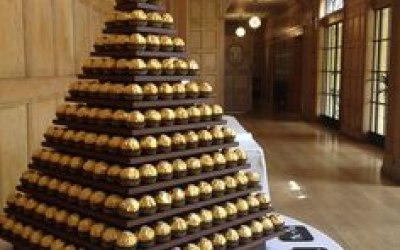 Large 14 Tier Ferrero Rocher Towers