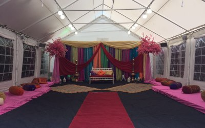 Hassina Occasions Marquee Hire 1