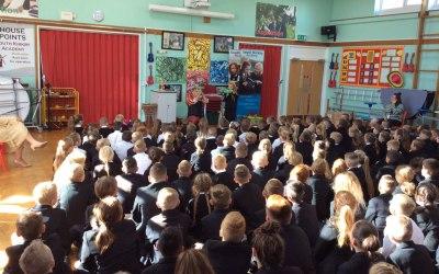 Demonstration show - South Kirkby Academy, Wakefield. Kirkby