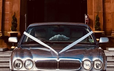 2 matching extended interior Jaguar XJs