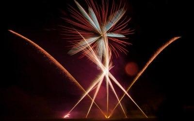 Northern Lights Fireworks 1