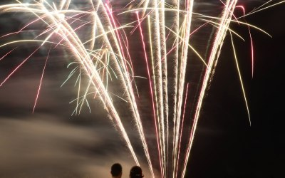 Northern Lights Fireworks 2