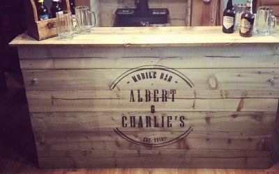 Albert and Charlie's Mobile bar  8