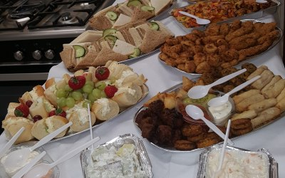 Mini party buffet
