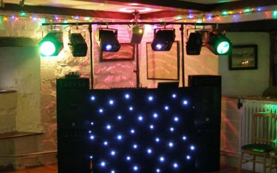 Soundwaves Disco lighting for a birthday party