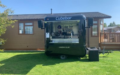 Cube Bar at charity event