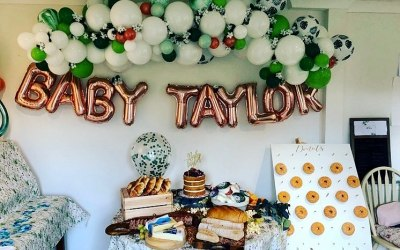 Baby Shower - Organic Garland