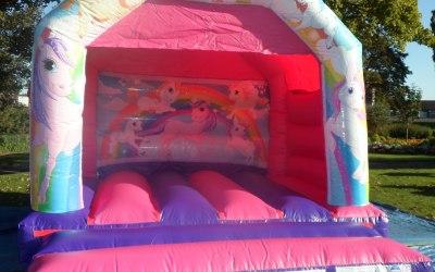 Unicorn Bouncy Castle Hire https://www.splashinflatables.com/category/bouncy-castles/515/unicorn-bouncy-castle#BodyContent