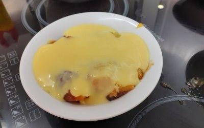 Very Lemony Sponge and custard