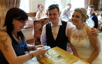 Psychic card readings at Weddings