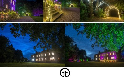 Outdoor lighting package, to transform any venue.