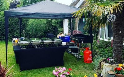 Private BBQ Set Up
