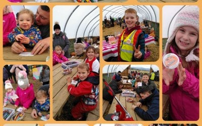 Some highlights of our residency at Arnprior Pumpkins 2019. We made over 1000 badges in October!