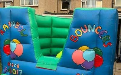 Toddlers Bouncy Castle & Ball Pool