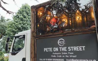 Peter Pizzeria Food Vans Leicestershire