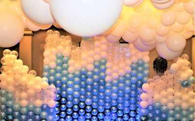 Themed Events Balloon wall & cloud ceiling