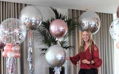 Bubble Balloons & Foil Orbz