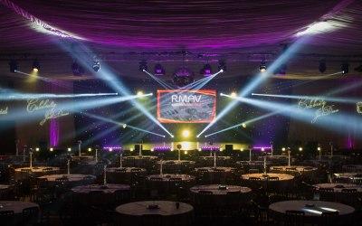 Lighting, Sound, Video, PA System, Staging, Event management, Celebrity Just Dance, Lighting Design
