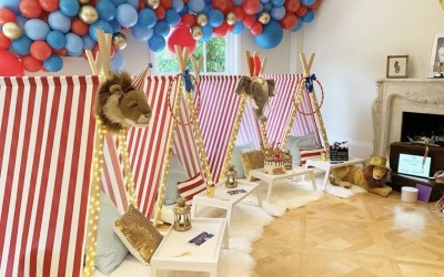Teepee party on the mummy diaries