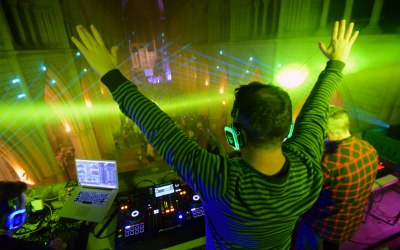 Silent Disco Cathedral Events