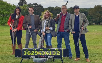Laser Clay Shooting Hire