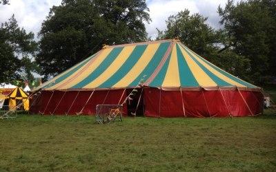 Big top 60/90 ft festival arena