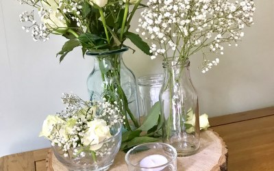 Mix and match centre pieces
