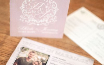 Passport wedding invitations are great for weddings abroad