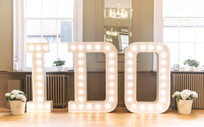 Bespoke Light Up Letters 3