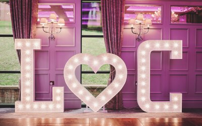 Bespoke Light Up Letters 5
