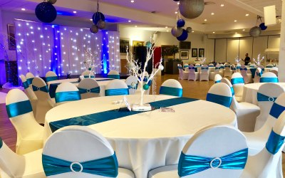 Event decor hire in Hertfordshire, Bedfordshire, Essex & surrounding areas
