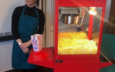 Popcorn Machine for Hire in Stevenage, Hertfordshire