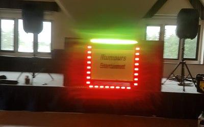 Retro light box plus led