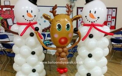Christmas balloon displays