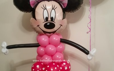 Minnie Mouse balloon model
